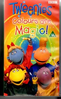 The Tweenies   Colours Are Magic   VHS PAL Video