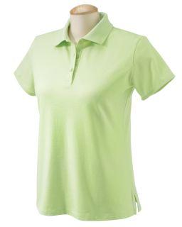 Chestnut Hill Polo Shirt Top Womens Short Sleeve Performance Plus
