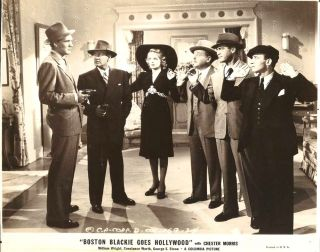 Chester Morriss Boston Blackie Goes Hollywood or 1942