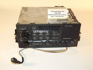 Chevy Astro Van CS iPod Radio 1996 1997 1998 1999 2000 2001 2002 2003