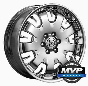 Factory Chrome 22 22 OE GM GMC Chevrolet Cadillac Wheels Rims CK369