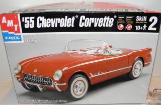 AMT Ertl 1 25 55 Chevrolet Corvette 6210
