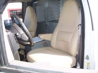 Chevy Express Van 2000 2011 s Leather Custom Seat Cover