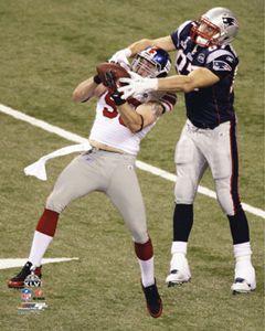 Chase Blackburn SUPER BOWL XLVI INTERCEPTION New York Giants NFL