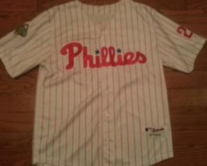 Phillies Chase Utley World Series 2008 Jersey