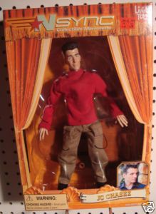 NSYNC JC Chasez Collectible Marionette Doll RARE