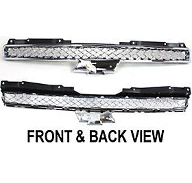 Assembly New Chrome Chevy Suburban Chevrolet Tahoe 2009 Parts 15944321