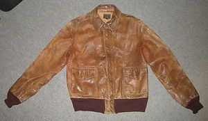 WWII US USAAF Army Air Forces Type A 2 Bomber Flight Jacket with