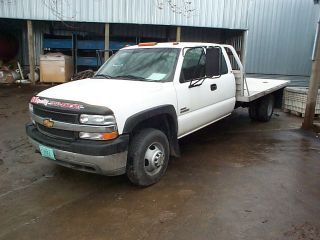 from this vehicle 2001 CHEVY SILVERADO 3500 PICKUP Stock # 20019B