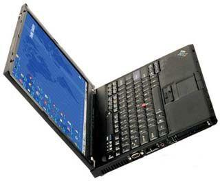 IBM T60 Core Duo 1 83GZ 80GB HDD 1 5GB RAM CD DVD 15 1 LCD WiFi Ready