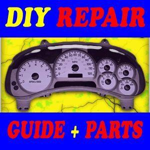 2005 Chevrolet SSR Repair Kit Guide Instrument Cluster Speedometer 02
