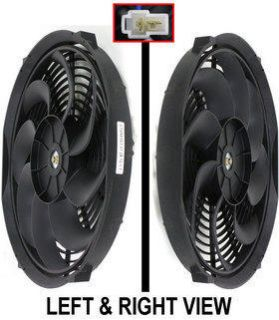 Fan New Chevrolet K5 Blazer GMC Sonoma Volvo 245 V20 C30 Pickup Auto
