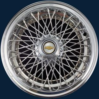 93 94 95 96 Chevrolet Caprice 15 3236B Wire Hubcap Wheel Cover Part