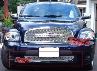 06 10 chevy hhr bumper stainless mesh grille insert c75213t