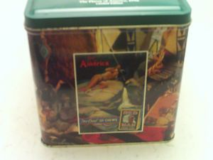 Red Man Chewing Tobacco Tin 1990 Limited Edition