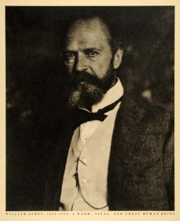 biography of psychologist william james William james jones was born in the hyde park neighborhood in chicago, illinois he has two brothers - alonzo jones, iii (a medical student) and.