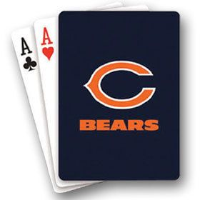 Chicago Bears NFL Standard Team Logo Playing Cards Poker Pitch HoldEm