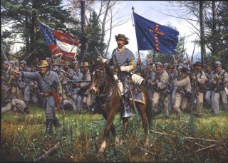 Triumph at Chickamauga by John Paul Strain Sold Out Edition