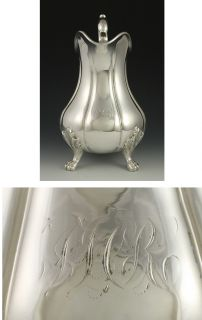 George Foster Coin Silver Creamer Milk Pitcher C1850S