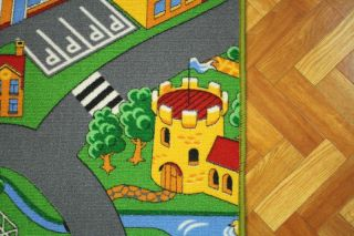 New Childrens Roads Play Mat Rug Any Size