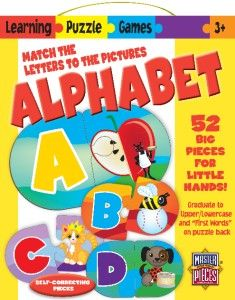 Alphabet Learning Games Educational Kids Puzzle 52 PC