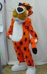 Chester Cheetos Cheetah Mascot Costume Adult Character Costume