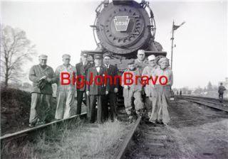 Original Vintage Negative C 1947 Pennsylvania Railroad Engine No 6538