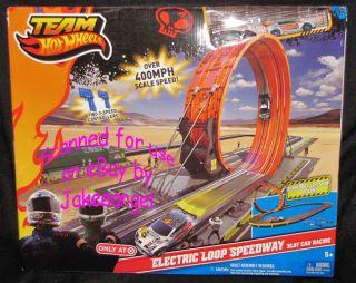 Hot Wheels Electric Loop Speedway Slot Car Racing Set Target Exclusive
