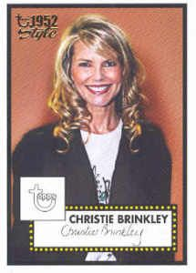 2005 06 Topps Style 161 Christie Brinkley