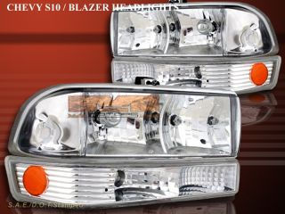 98 04 Chevy S10 Blazer altezza Headlights Bumper Lights
