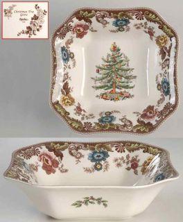Spode Christmas Tree Grove Square Salad Bowl 4063451