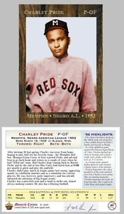1952 Charley Pride, negro league / country singer $10BV