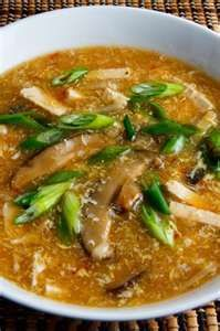 Sour Soup Recipe Fast Easy Spicy Chinese Chicken Mushroom Soup