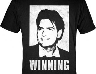 Charlie Sheen Winning T Shirt Officially Licensed S
