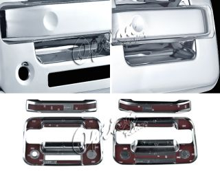 04 11 Ford F150 Door Handles All Chrome Finish Pair L R