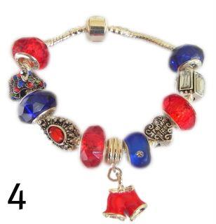 Daughter Gran Mum Christmas Charm Bracelets Stocking Fillers UK