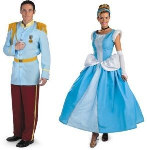 Cinderella Prince Charming Couples Adult Costume Disney