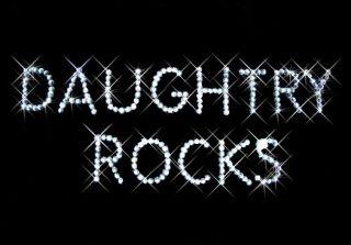 Daughtry Rocks Chris Rhinestone Long Sleeve T Shirt