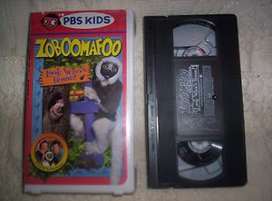 VHS K1 Zoboomafoo Look Whos Home Chris Martin Kratt Brothers PBS Kids