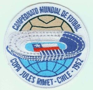 1962 7th FIFA World Cup Chile Football Soccer Patch