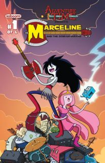 ADVENTURE TIME MARCELINE SCREAM QUEENS #1 KABOOM Comics COVER A