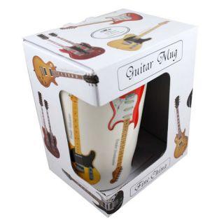 Fine China Guitar Latte Mug, Fender, Gibson, Les Paul   alternative
