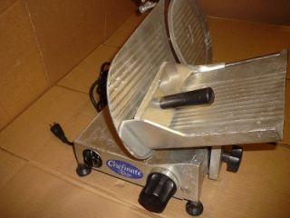 CHEFMATE MEAT SLICER MODEL GC10   10 BLADE. SELLING AS/IS FOR PARTS