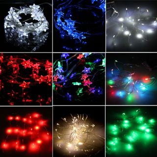 Mini 20 LED Star Wedding Party Christmas Fairy String Lights