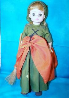 VINTAGE CINDERELLA MADAME ALEXANDER DOLL ORIGINAL TAG WITH STAND