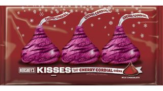 Hersheys Cherry Cordial Kisses candy * Free shipping Limited Holiday
