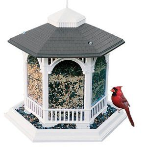 Cherry Valley Feeders Bird Feeder House Cute Cardinals Wild