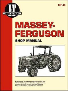 Massey Ferguson Tractor Repair Manual MF340 to MF399