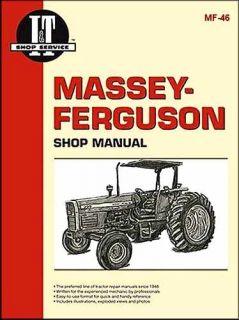 Massey Ferguson Tractor Repair Manual MF340 to MF399