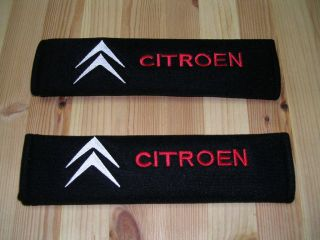 CITROEN Seat Belt Pads BX AX DISPATCH XM ZX C3 C8 RELAY DS 2CV SM SAXO